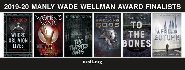 To the Bones has just been named to the shortlist for the Manley Wade Wellman Award.